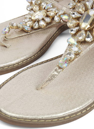 Gusto Sandalet Altın